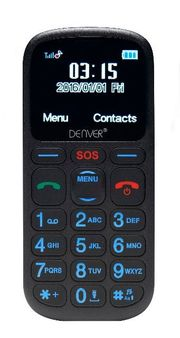 DENVER GSP-120 Senioren Notruf Handy