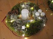 Tischkranz mit LED