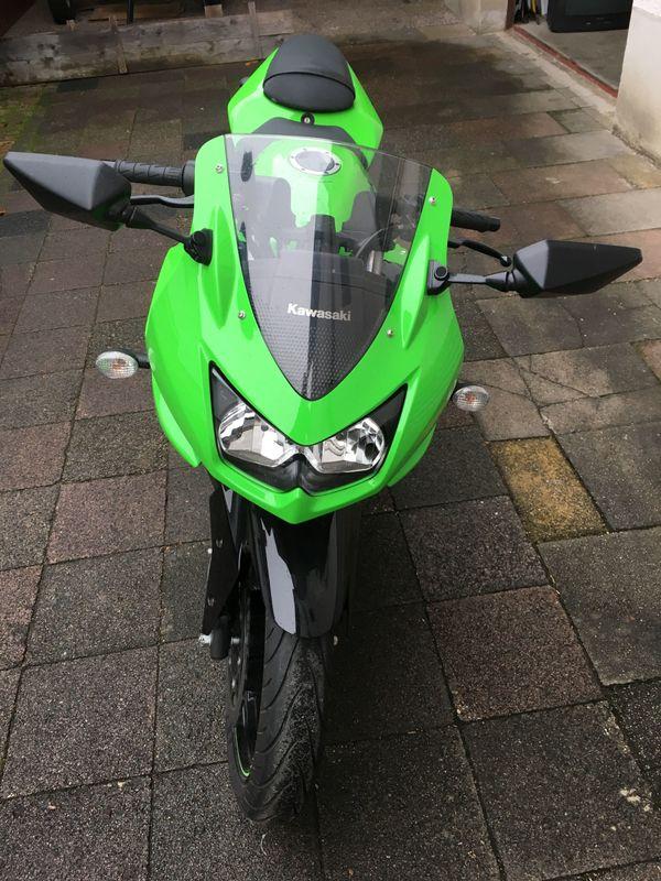 Kawasaki Ninja 250R - Malsch - Kawasaki, Ninja, 25 kW, 7150 km, EZ 03/2009, grün, TÜV 05/2019, 2. Hand, Garagenfahrzeug, unfallfrei, Vollverkleidung. Kawasaki, Ninja 250R, 25 kW, 7150 km,Bj 2009 EZ 03/2009, grün, 2. Hand, unfallfrei, Vollverkleidung Maschine ist angemeldet  - Malsch