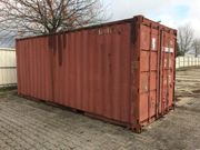 Container Lagercontainer Seecontainer