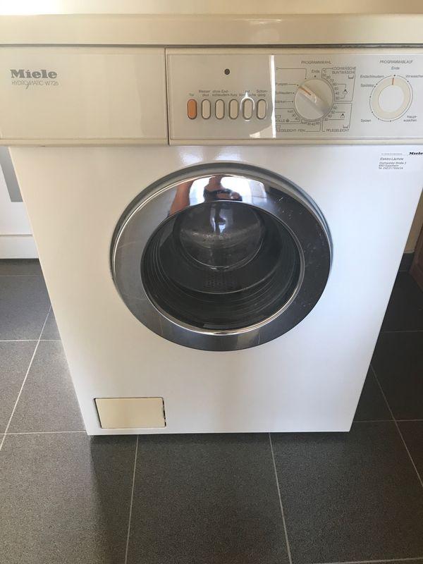 Miele Waschmaschinen günstig gebraucht kaufen - Miele Waschmaschinen ...