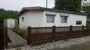 Wochenend- und Urlaubsdomizil - umbautes Mobilheim