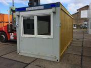 Bürocontainer Mannschaftscontainer Baustellencontainer