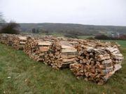 Buchen und Eichenholz