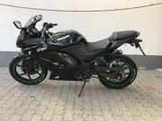 Kawasaki 250r ninja schwarz