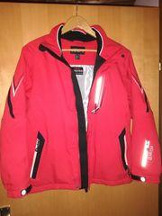 Ski-Jacke Jungen 164 ROT praktisch