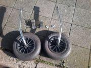 Slipräder für Schlauchboot
