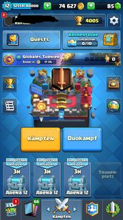 Clash Royale Account LvL 12