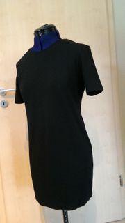 Kleid Mini schwarz Gr 40