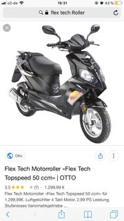 Flextech 50ccm Roller