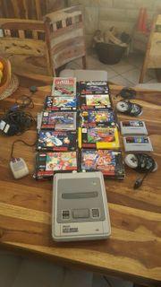 Super Nintendo mit spielen 2