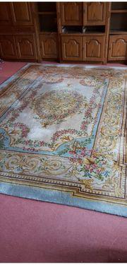 Sehr gut erhaltener alter Teppich