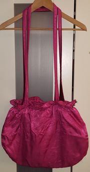 DIY selbstgenähte Tasche Beutel in