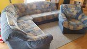 Sofa mit Sessel )))