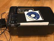 HP F4580, Multifunktionsgerät