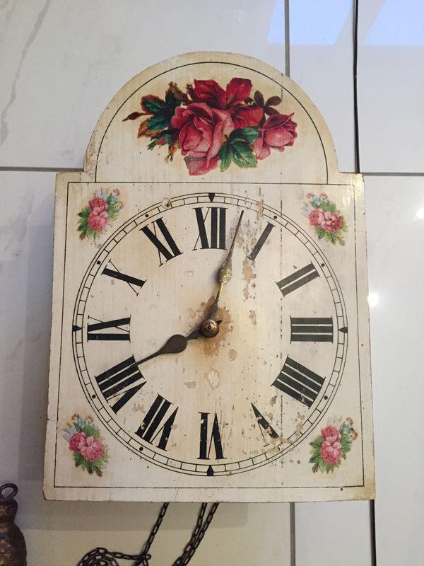 Rosenblatt - Uhr antik » Uhren