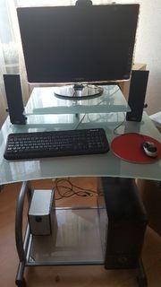PC + Bildschirm und