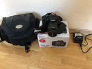 Canon EOS 700D mit EF-S