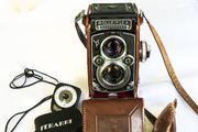 Zweiäugige Rolleiflex-Kamera
