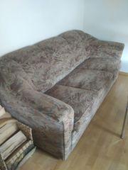 Couchgarnitur, gut erhalten