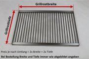 Edelstahl GRILLROST ZERLEGBAR Griller 6mm