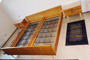 Kirschbaum Doppelbett mit Bettrosten und
