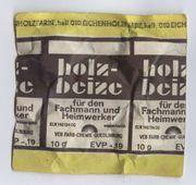 Holz-Beitze - VEB Farb-Chemie-Quedlinburg - DDR - Ostalgie