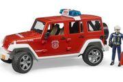 Feuerwehr Jeep Wrangler mit Figur