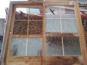 Schiebetüre aus Holz