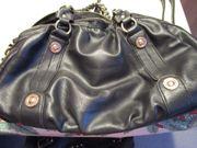 Damen-Lederhandtasche mit