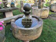 Historische Brunnenanlage das Original aus