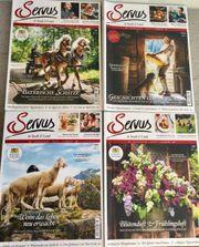 Zeitschrift SERVUS in Stadt Land