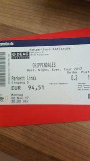 Eintrittskarte Chippendales