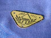 Schlagzeug SONOR Badge 1940er Jahre