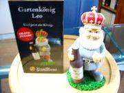 Gartenzwerg Leo aus der König