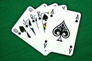 Poker - Gruppe in