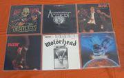 Schallplatten und CDs aus den