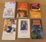 6 Taschenbücher für