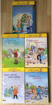 9 Conni Bücher von Julia