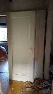 Alte Zimmertüren, weiß