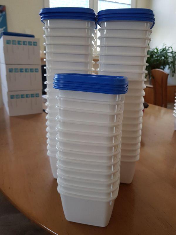 Gebraucht, Tiefkühldosen mit Deckel 500 ml von Gies gebraucht kaufen  69207 Sandhausen