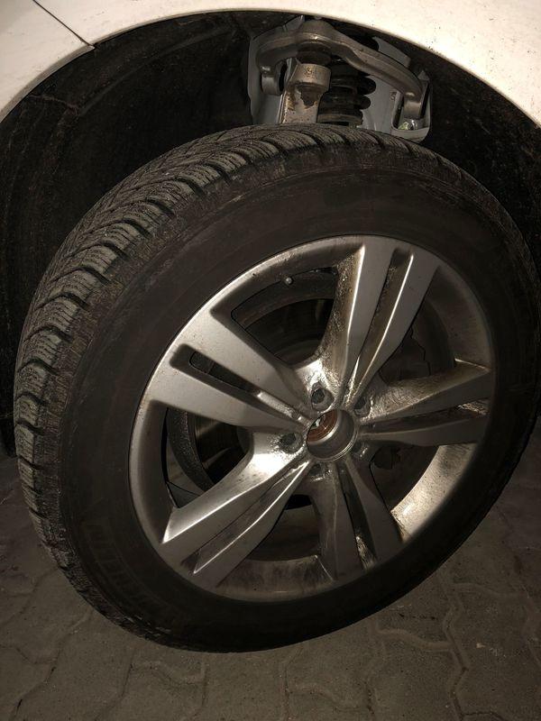 Mercedes GLE Winterrädersatz Michelin 255