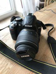 Gebrauchte Nicon D3100 Kamera