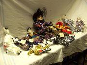 9 Puppen ,Figuren,