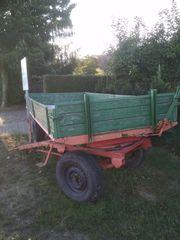 Anhänger - Traktor - Rolle