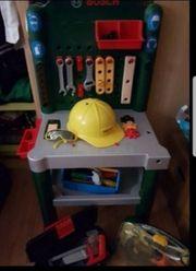 kinderwerkbank mit vie zubehör