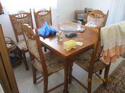 Tisch rund weiß