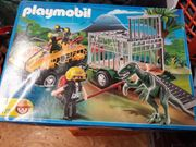 Playmobil 4175 Amphibienfahrzeug mit Deinonychus