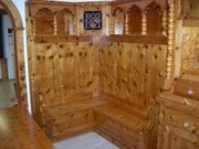 Eckbank aus Zirbenholz