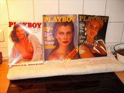 24 alte Playboy hefte aus